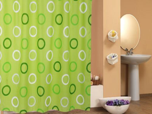 duschvorhang gr n ebay. Black Bedroom Furniture Sets. Home Design Ideas