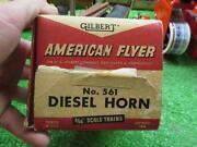 American Flyer Diesel