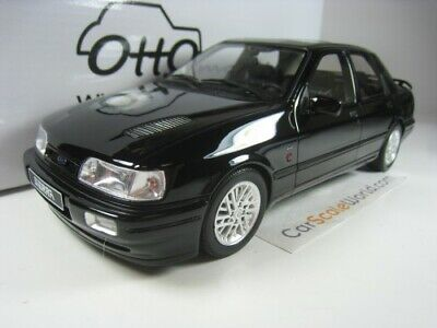 FORD SIERRA RS COSWORTH 4X4 1992 1/18 OTTO MOBILE (BLACK)