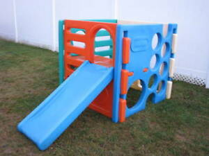 Little Tikes Cube Climber Slide & Beach Bag