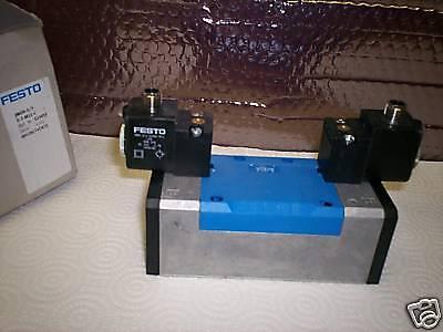 Festo  Jmdh-5/2-d-3-m12-c Solenoid Valve P/n 533015 New Condition In Box