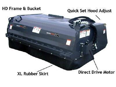 72 Bobcat Pick Up Broom Attachment For Skid Steer Loader Bobcat Kubota Asv Jcb