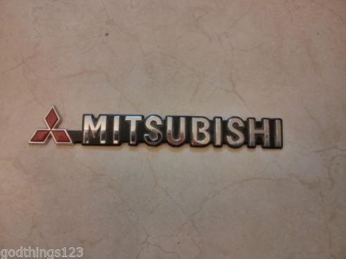 Mitsubishi Logo Parts Accessories Ebay