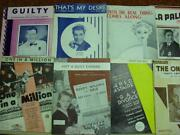 Old Sheet Music Lot