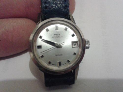 Vintage technos watch ebay for Technos watches