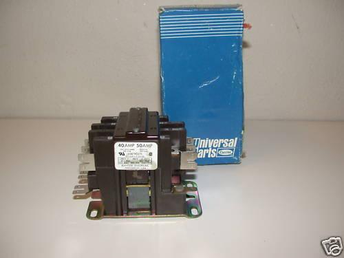 NOS! 40A CARRIER CONTACTOR HN53CD115E HN53CD-115-E NOS!