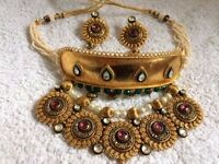 Indian Rajasthani bridal jewellery set - NEW