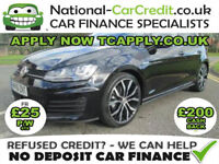 Volkswagen Golf TDi 2.0 TDI BlueMotion Tech GTD 5dr Good / Bad Credit Car Finance (black) 2016