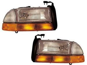 1997 2004 Dodge Dakota Headlights
