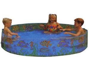 Paddling pool ebay for Rigid paddling pool