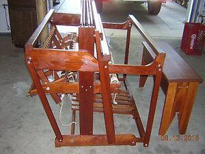 """50"""" Weavers Loom - MINT Norwood 1992 Cherrywood & Accessories"""