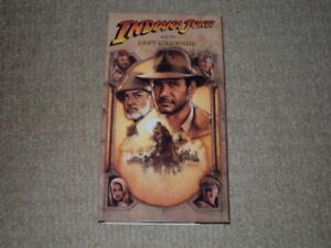 INDIANA JONES AND THE LAST CRUSADE VHS MOVIE EXCELLENT CONDITION