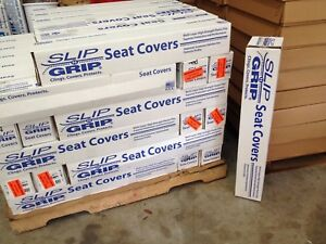 (1) Slip N Grip Seat Covers - 500 per roll, Disposable Plastic Auto Seat Covers