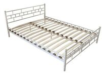 DOUBLE METAL BED FRAME FOR SALE