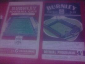 Football Programmes Wanted