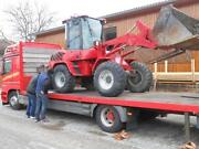Tieflader Transport