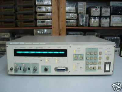 Nf Electronic Inst 5010a Frequency Response Analyzer