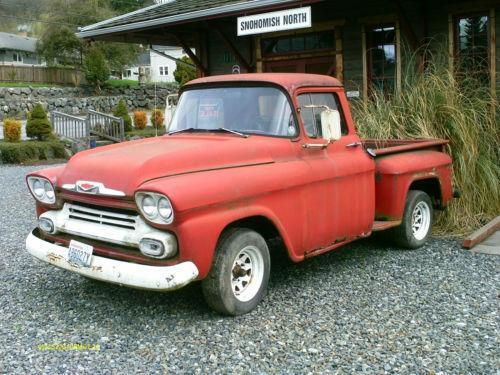 1958 Gmc Truck For Sale Craigslist >> 1958 Chevy Truck | eBay