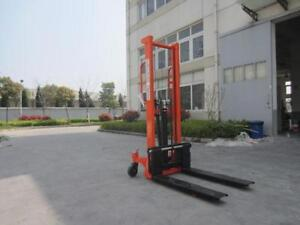 Brand new Pallet stacker, hand stacker lift truck 100Kg 2200lbs