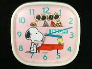 Vintage Snoopy Clock