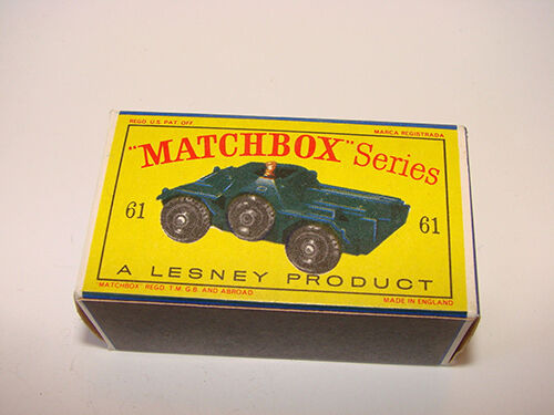 Lesney Matchbox Car Originals