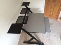 Quik-Lok Z-555 Music Project Station / Production Desk