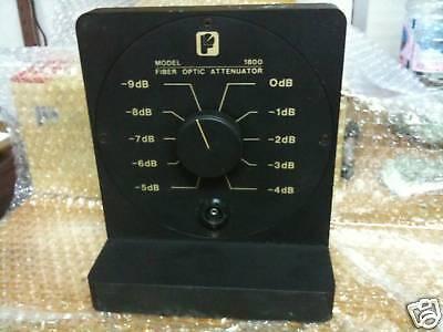 Photodyne 1800 Fiber Optic Attenuator 0 To 89db Dark