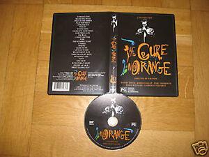 CURE, THE - In Orange DVD - factory pressed LAST COPY ULTRA RARE