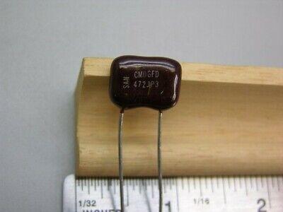 5 Sangamo Cm06fd472jp3 4700pf 5 500v Silver Mica Capacitors