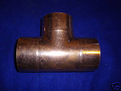 2 Copper Tee Fits Over 2-18 Od Copper Pipe4.50 Sh On Orders 150 Or More