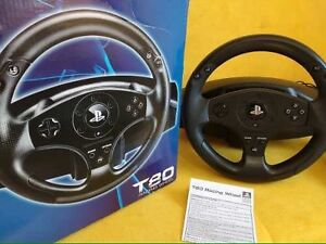 T80 racing wheel for the PS4 and PS3  Cornwall Ontario image 1