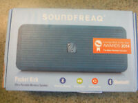 Soundfreaq Pocket Kick Wireless Bluetooth Portable Speaker BLUE