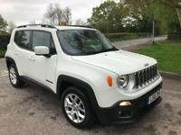 2016 JEEP RENEGADE 1.6 TDI 10,400 MILES CAT D 1 YEAR MOT FULL SERVICE HISTORY