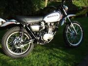 Honda XL250 Motorsport