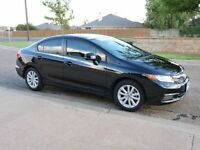 2012 Honda Civic EX SPORT PKG--EXTREMELY WELL KE---ONLY 69,000KM