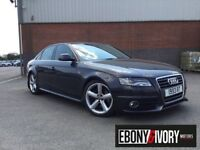 Audi A4 86547 MILES + 1.8T FSI 160 S Line 4dr + FULL SERVICE HISTORY (grey) 2008