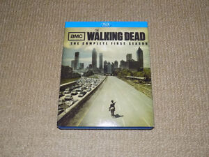 AMC THE WALKING DEAD THE COMPLETE FIRST SEASON BLU-RAY