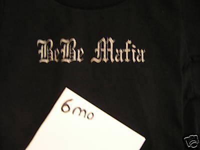 MISS STREET MAFIA BMX BEBE MAFIA T-SHIRT 6month NEW