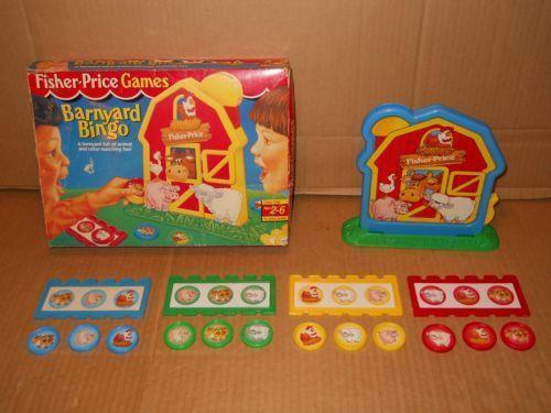 Fisher Price Barnyard Bingo Ebay