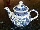 Blue Teapot Blue Willow & Flow Blue Pottery & Porcelain