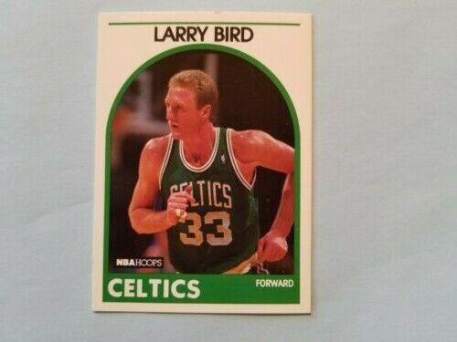 LARRY BIRD 1989 HOOPS CARD, BOSTON CELTICS 150 - $100.00