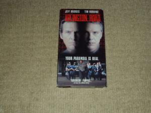 ARLINGTON ROAD, VHS MOVIE, EXCELLENT CONDITION