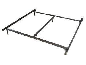 King size metal bedframe