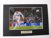 Ronaldo Signed Photo