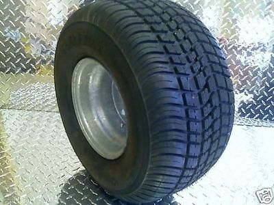 "8"" Trailer Rim Tire Wheel Assembly Golf Cart EZGO 5H 3H320 LOADSTAR"