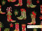 Cowboy Boot Fabric