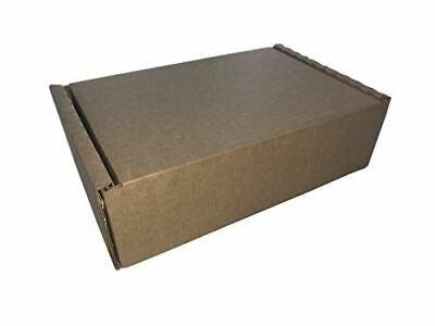 50 x Brown Cardboard Postal Box 185 x 122 x 60mm Royal Mail Small Parcel