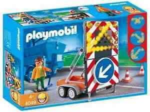 Playmobil  4049 LED Signal on Trailer new in sealed box