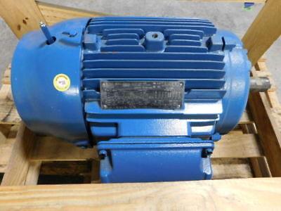 15hp Weg 01518et3e254t-w22 Motor - New Surplus