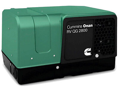 New Cummins Onan 2.8HGJBB-1120A RV Commercial Generator Quiet Gasoline QG 2800
